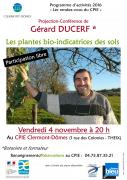 conférence Gérard Ducerf au CPIE
