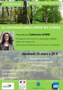 """Conférence Catherine Lenne """"La communication entre les arbres"""""""