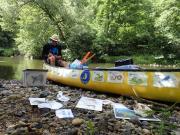 Relevé et collecte naturaliste, analyse de l'eau