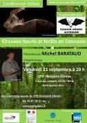 Conférence Michel Barataud au CPIE Clermont-Dômes