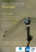 Affiche Objectif Nature Auvergne 2017