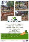 Affiche officielle de l'inauguration de l'Archipel des Salins